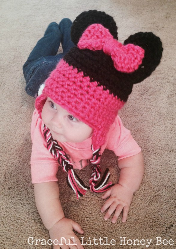 Kennedy Minnie Mouse Hat