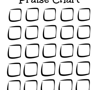 Free Praise Chart Printable