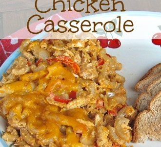 Southwest Chicken Casserole on gracefullittlehoneybee.com