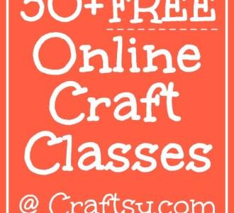 30+ Free Online Craft Classes