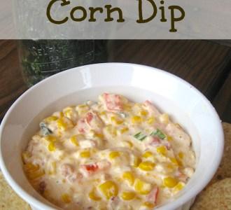 Slow Cooker Corn Dip on gracefullittlehoneybee.com