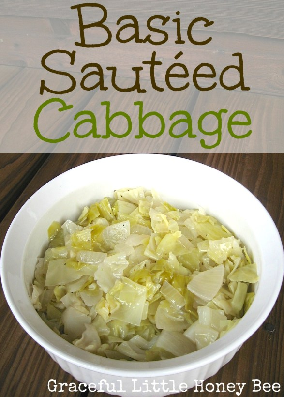 This sautéed cabbage recipe is simple, but seriously good!