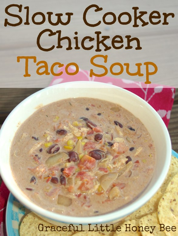 We have this creamy taco soup at least oncer a week during the colder months. I love it because it's so easy and freezer friendly.