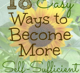 18 Easy Ways to Become More Self-Sufficient on gracefullittlehoneybee.com