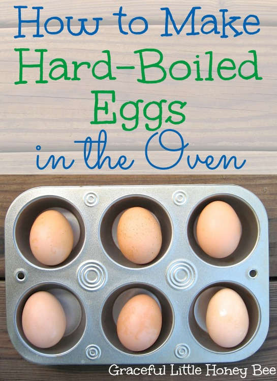 Skip the mess and learn how to make hard-boiled eggs in the oven!