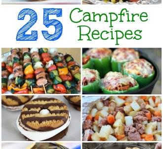 25 Campfire Recipes on gracefullittlehoneybee.com