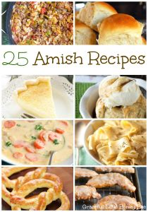 Check out this list of 25 From Scratch Amish Recipes on gracefullittlehoneybee.com