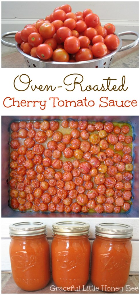 Oven-Roasted Cherry Tomato Sauce