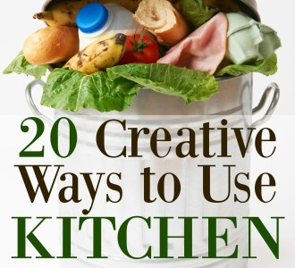 See this list of 20 Creative Ways to Use Kitchen Scraps and learn how to reduce food waste and save money. Ideas include candied orange peel and apple scrap jelly!