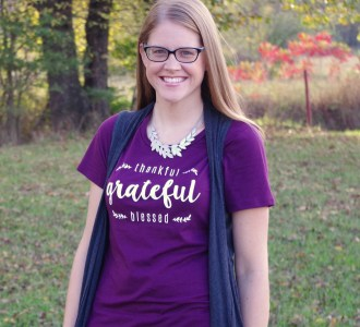 Get a FREE Thankful, Grateful, Blessed T-shirt!