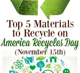 Top 5 Materials to Recycle on America Recycles Day (November 15th)