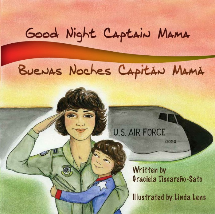 Combo 1: Good Night Captain Mama Book (Unsigned) + Patch