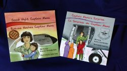 Combo 4: TWO Captain Mama BOOKS (UNSIGNED Paperback format)