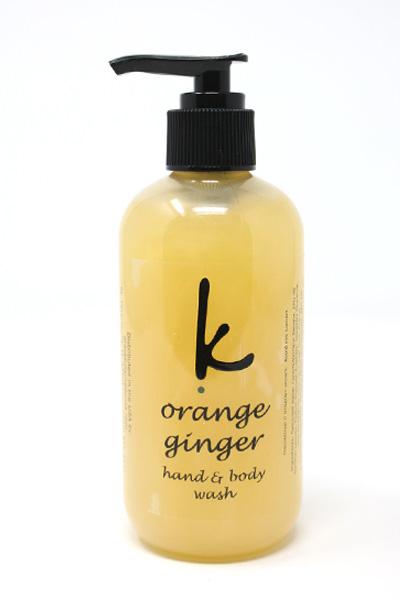 Orange/Ginger Bodywash