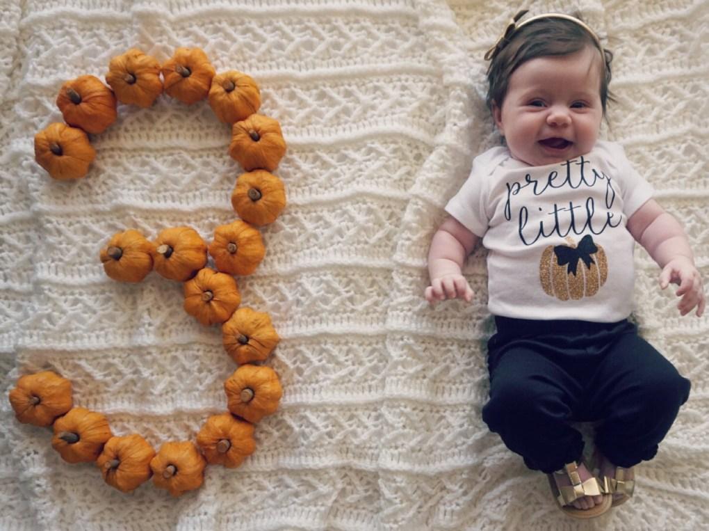 Three month baby update | gracefulmommy.com