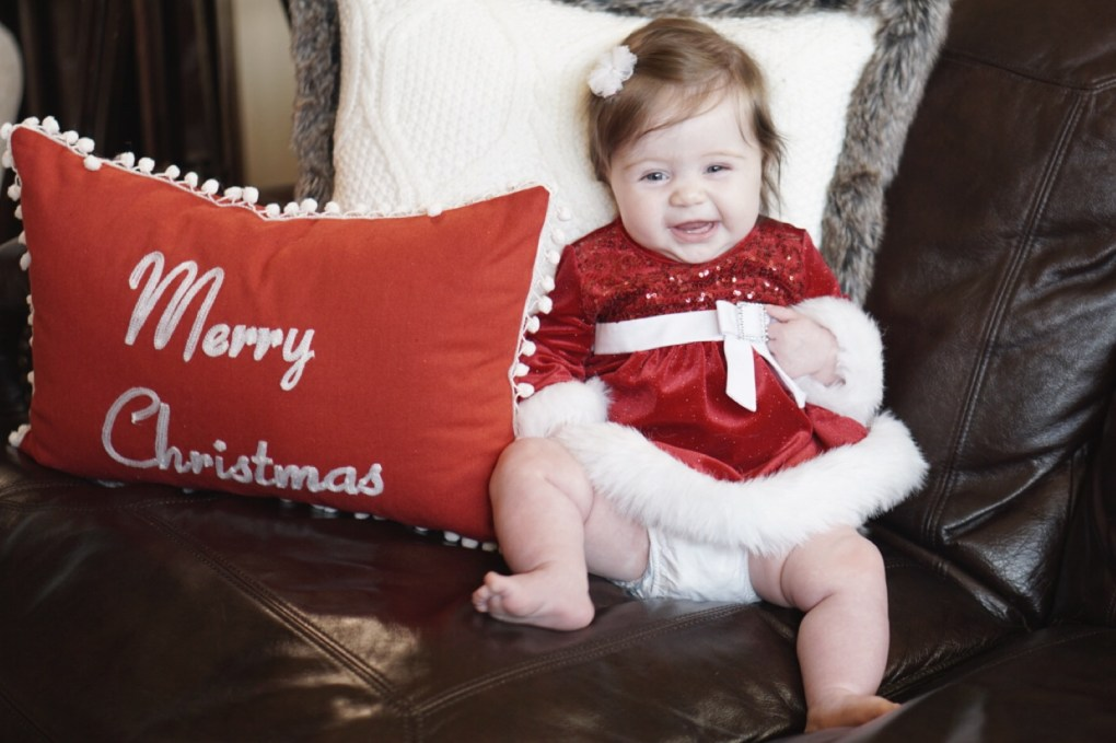 Gracie's First Christmas!