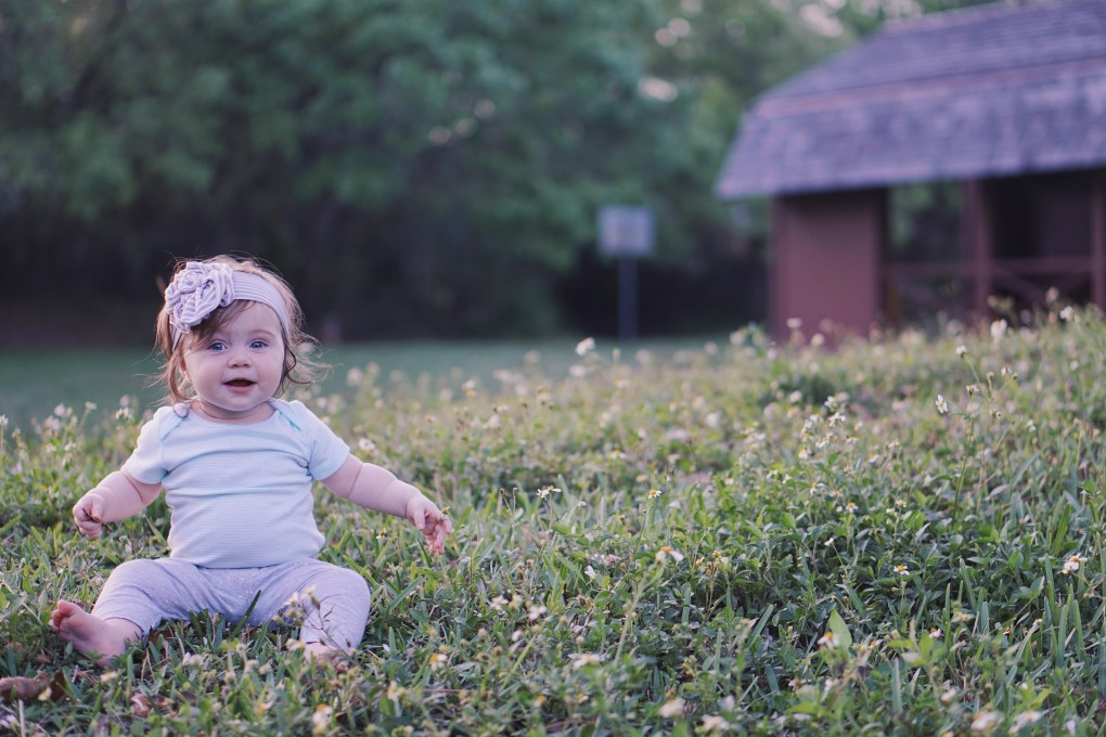 Golden Hour with Gracie. Love these photos!