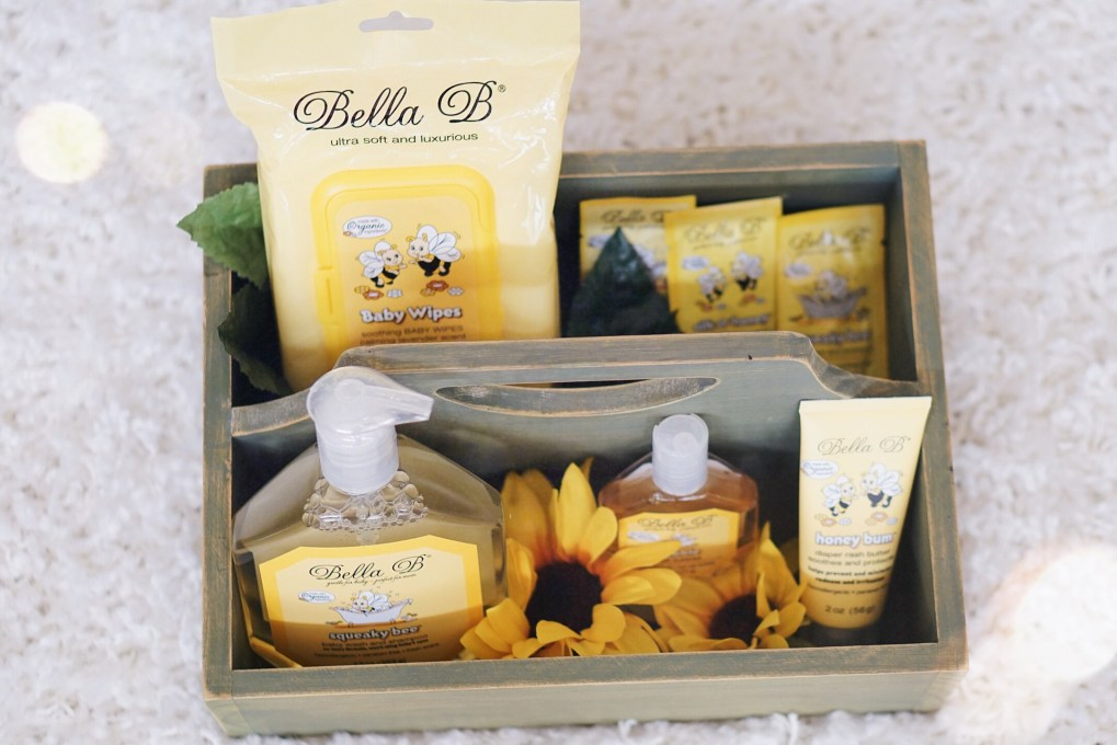 Bella B Natural Bodycare line for babies + moms! Read my full review at gracefulmommy.com