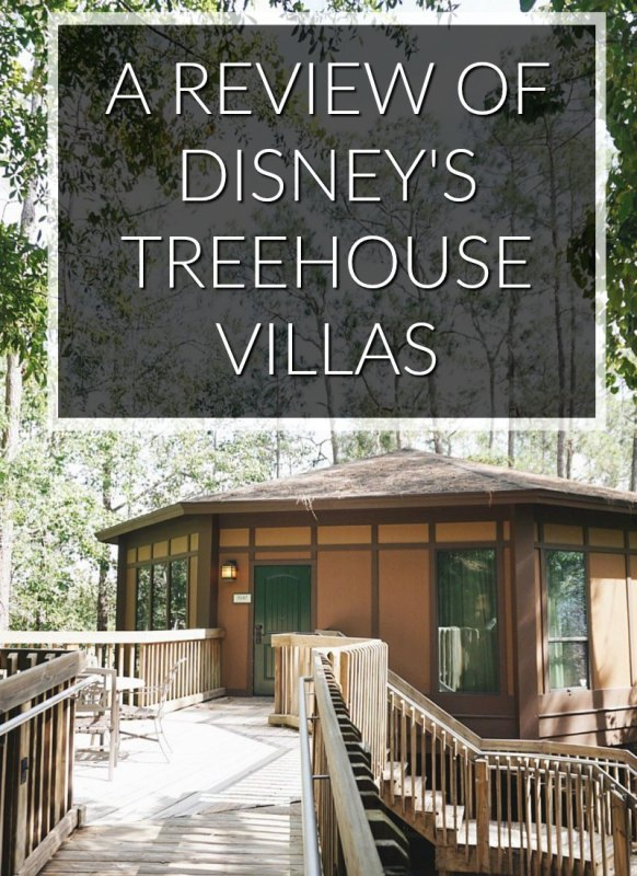 Disney's Treehouse villa review! I've always wanted to stay here.