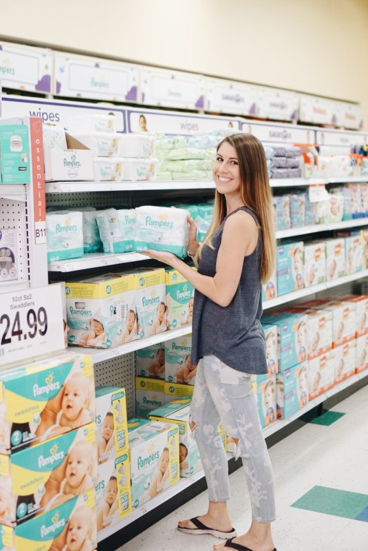 Summer Essentials with Pampers and Babies R Us! Summer with a baby - www.gracefulmommy.com
