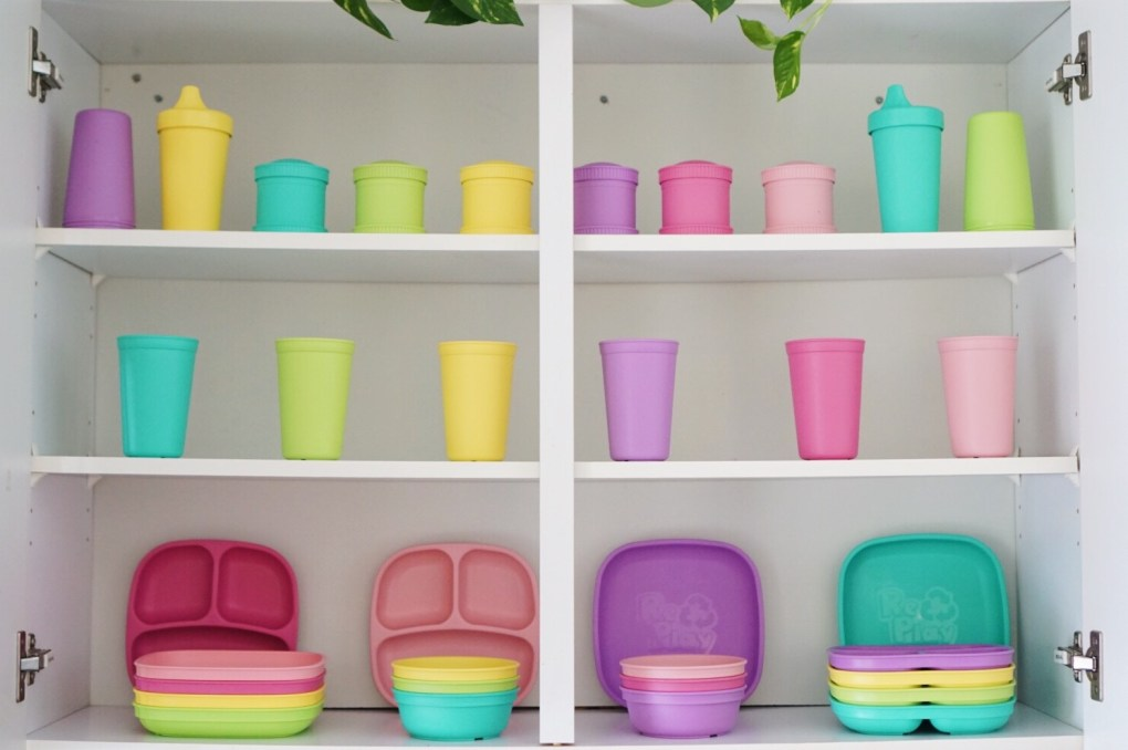 The Best Toddler Tableware! Re-Play Recycled Review!