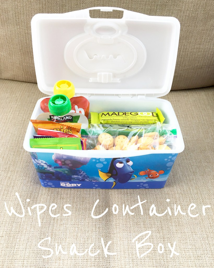 Wipes Container Snack Box
