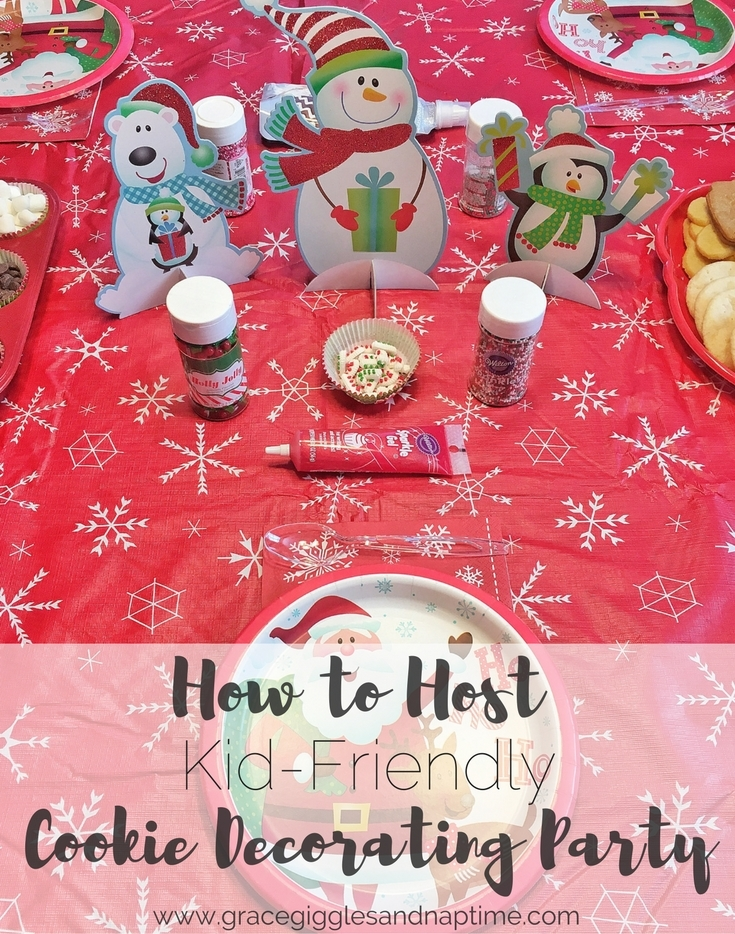 Kid-Friendly Cookie Decorating Party