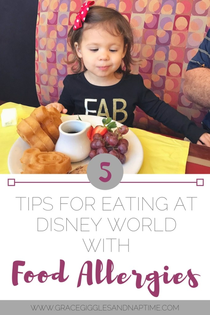 5 Tips for Eating at Disney World with Food Allergies