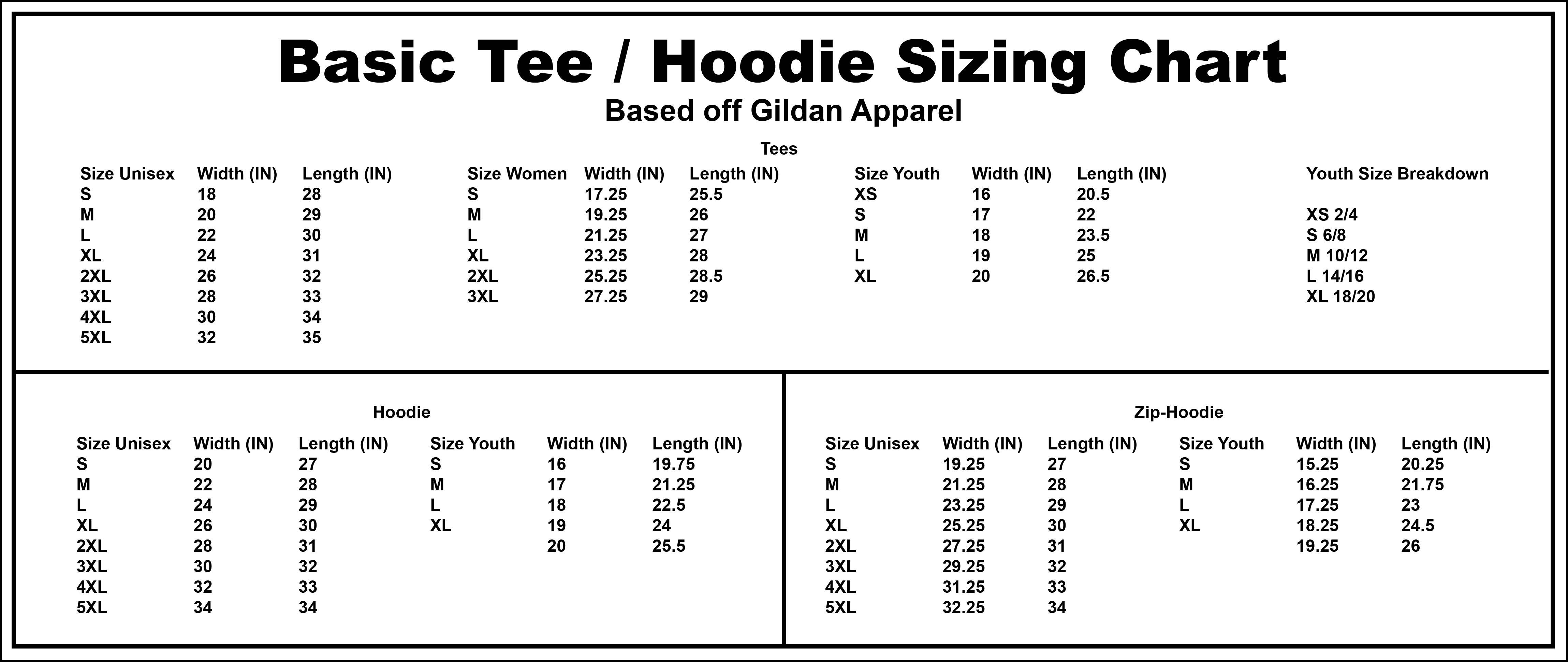 Gildan Adult Tee 1 Color Front