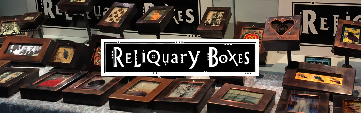 Grace Gunning Reliquary Boxes