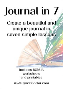 Journal in 7 course: create a unique journal in seven steps