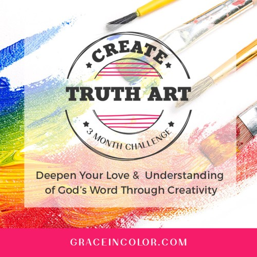 Create Truth Art at Grace in Color