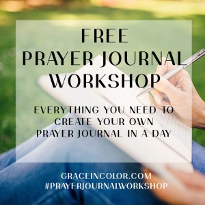 Free Prayer Journal Workshop and Printables