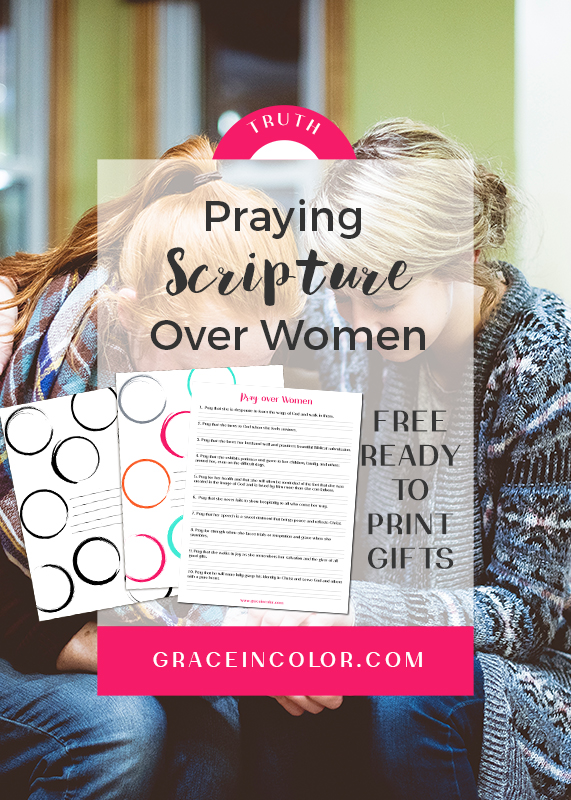 Praying Scripture Over Women: Mothers, Sisters, and Friends