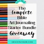 The Complete Bible Art Journaling Starter Bundle Giveaway