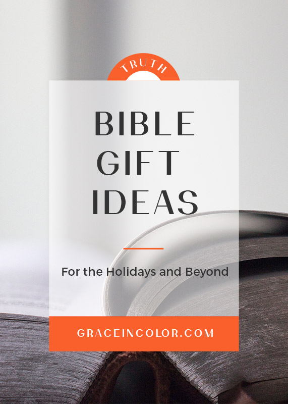 Bible Gift Ideas for Christmas