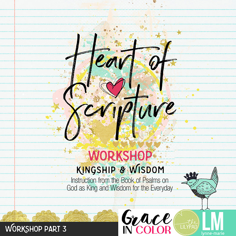Heart of Scripture Bible Journaling and Devotional Workshop