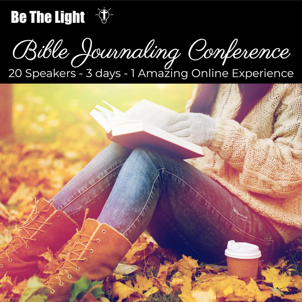 Be the Light FREE Bible Journaling Conference