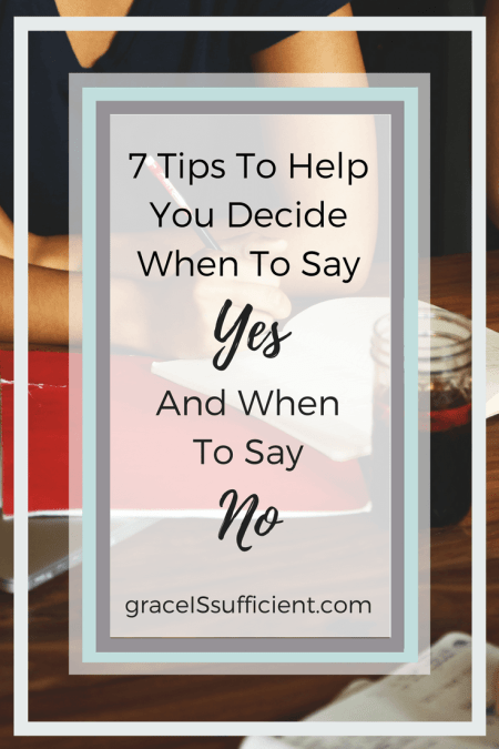 saying no when you have a chronic illness