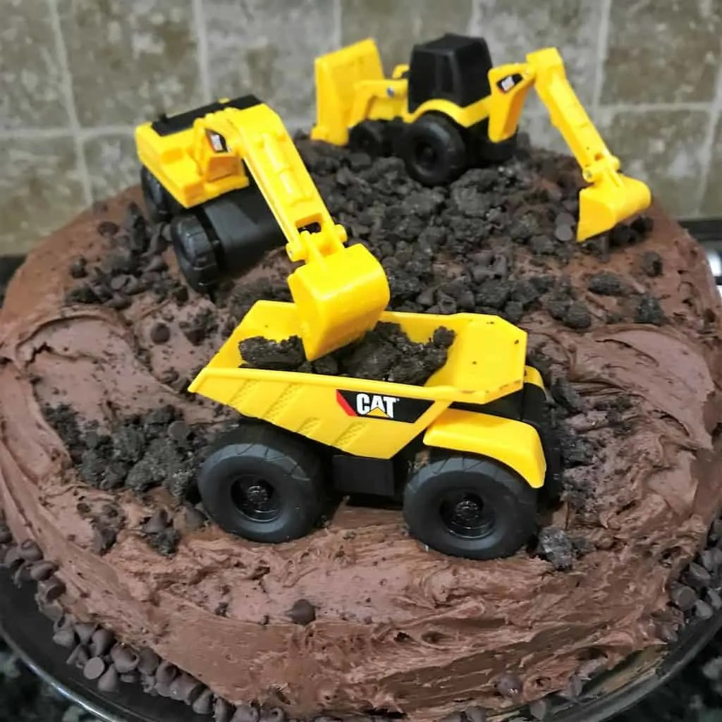 Tremendous Construction Birthday Cake And Its Easy Too Grace Like Rain Funny Birthday Cards Online Fluifree Goldxyz