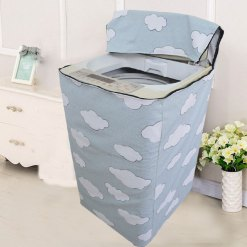 Top load washing machine cover 116