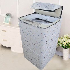 Top load washing machine cover 117