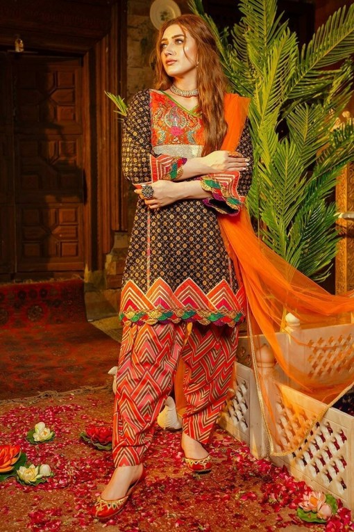 Zara Ahmad embroided lawn collection 2020