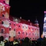 Wycieczki po Warszawie - Świąteczne iluminacje Warszawy - Warszawa Nocą