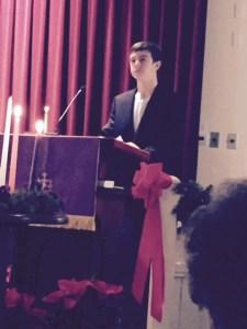 James at pulpit
