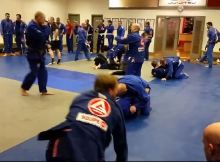 Video Fundamentals class at Gracie Barra belfast