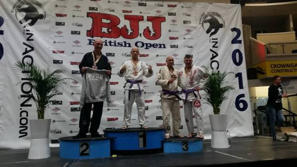 Ronnie Malone Bronze at the 2016 British Open Gracie Barra Belfast