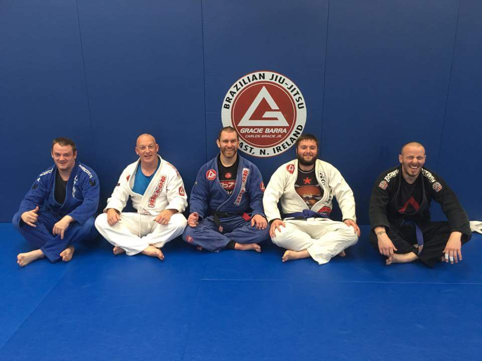 Promotions at Gracie Barra Belfast: New brown, purple and