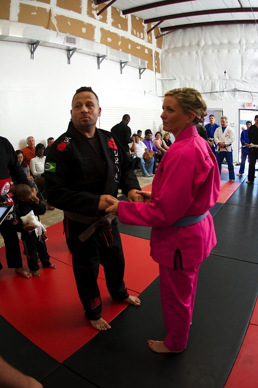 BJJ Wedding Couple From Florida Gets Married At Jiu Jitsu Academy Graciemag