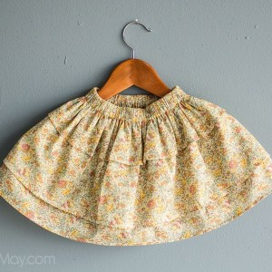 Claire Aude Perfect Twirls Skirt by Gracious May